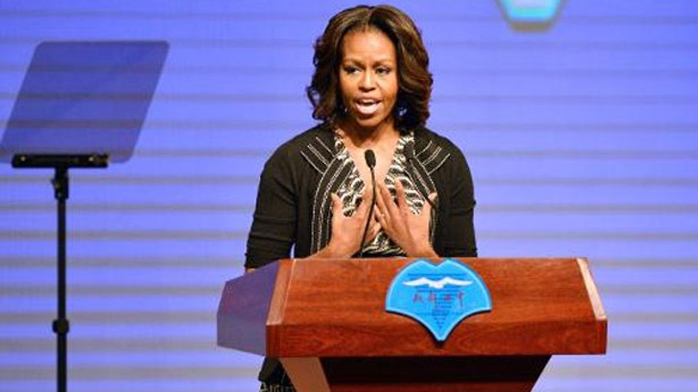 First Lady Michelle Obama touts equality and education in China