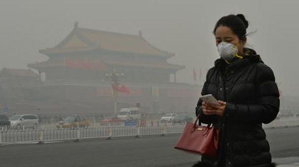 Dense smog costs China $300 billion a year due to health problems