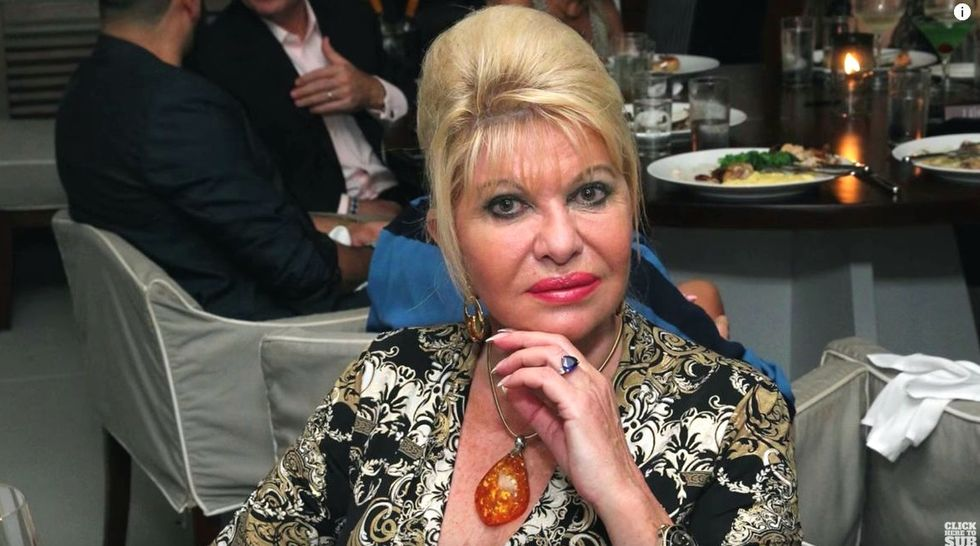 'Just go play golf': Ivana Trump advises Donald to give up on running in 2020