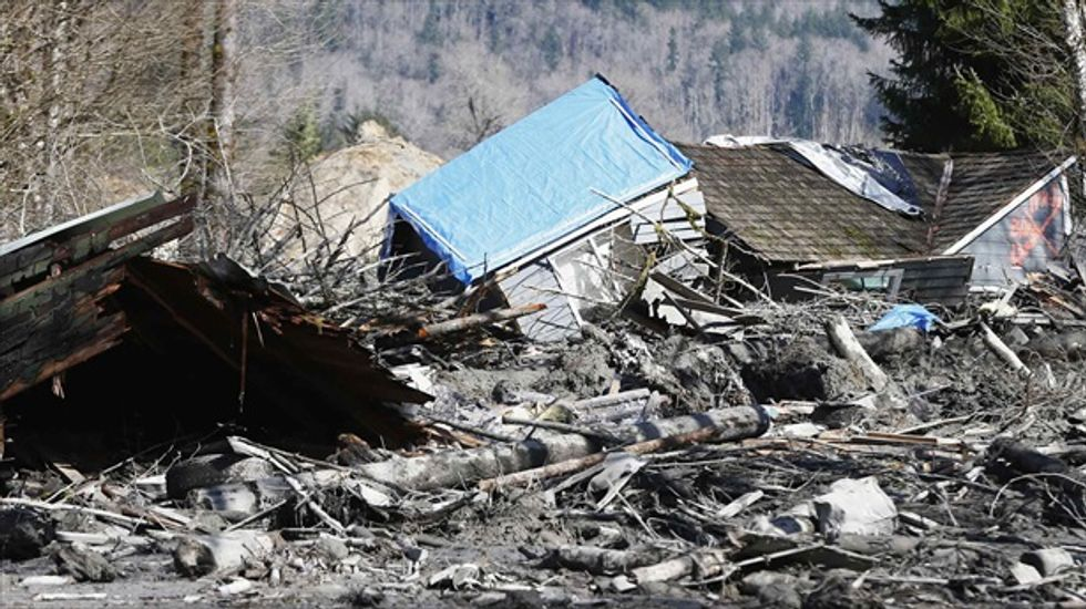 Death toll from Washington state mudslide climbs to 14