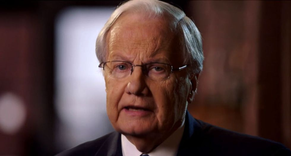 Bill Moyers: Never forget -- Trump rode to power on the wings of a dark lie