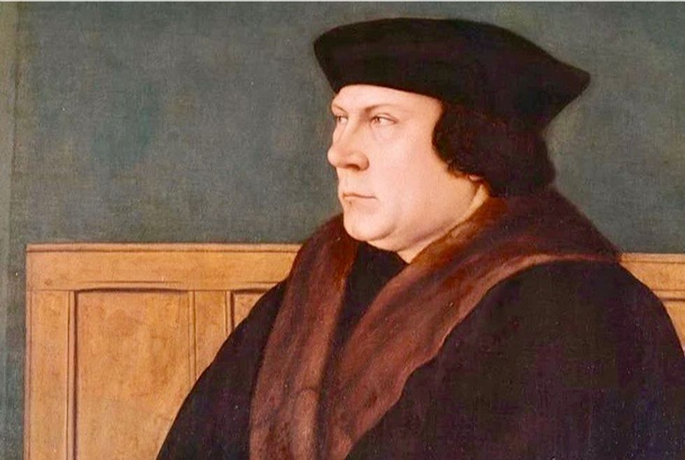 How Thomas Cromwell used cut and paste to insert himself into Henry VIII's Great Bible