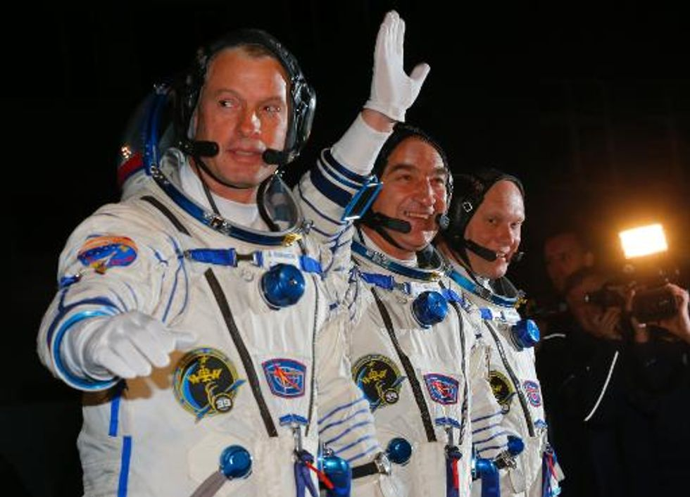 Rocket with U.S.-Russian crew misses ISS rendezvous