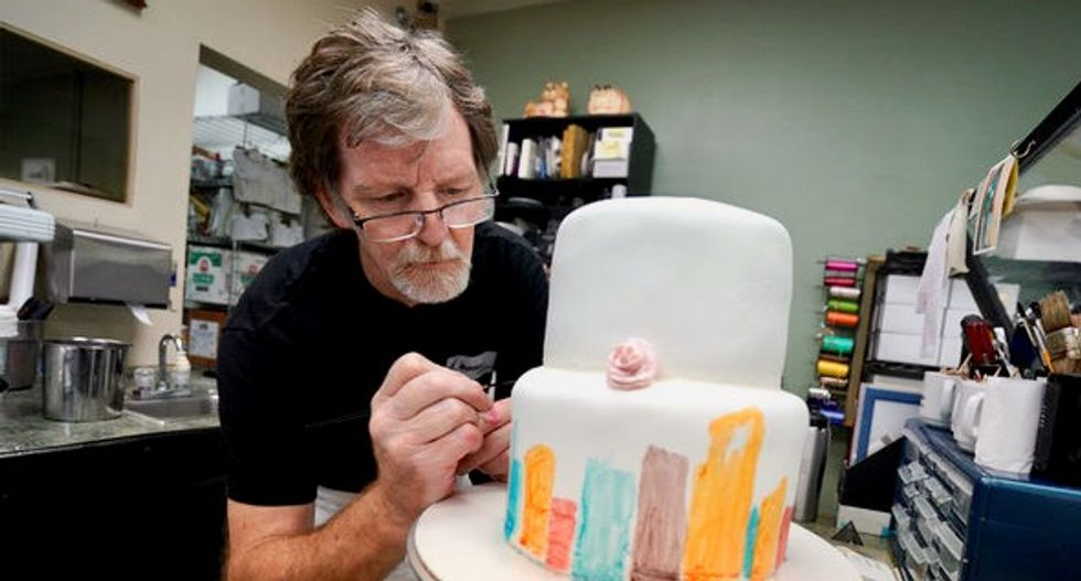 Colorado baker in case of Supreme Court sues state over 'persecution'