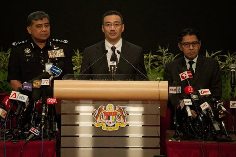 Satellite images show 122 potential objects in jet search: Malaysia