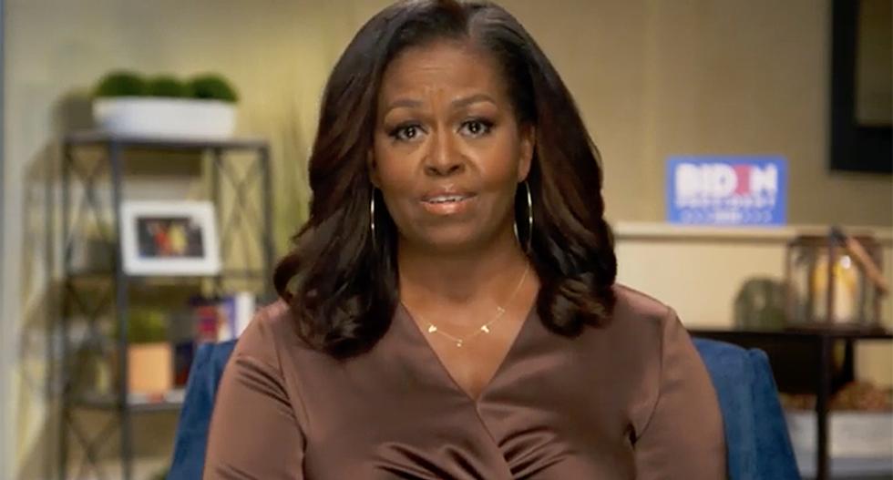 Michelle Obama's Democratic Convention speech will stress Biden's 'competence' over Donald Trump