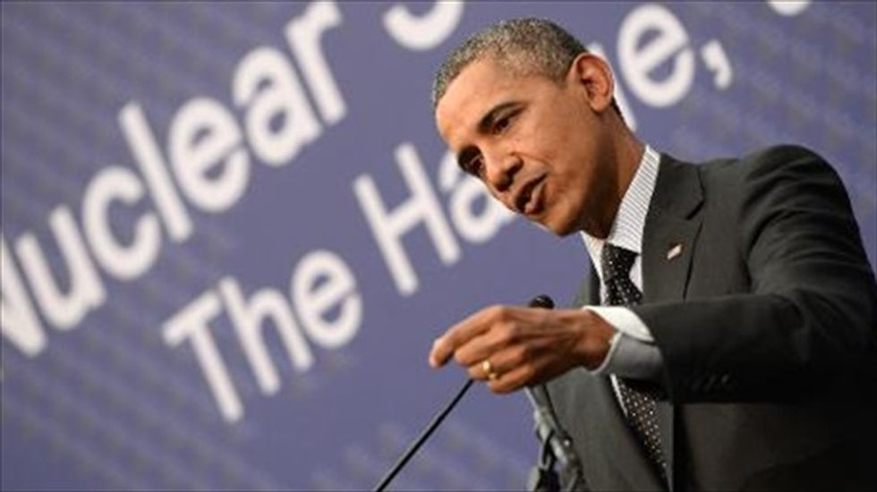 Obama: Russia is acting 'out of weakness' in Ukraine