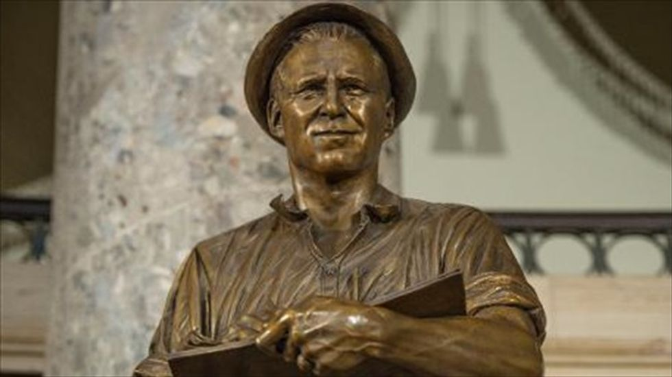 'Green Revolutionary' Norman Borlaug honored with statue in the Capitol