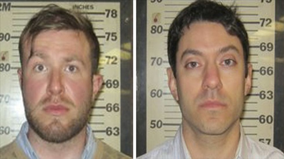 CNN producers arrested trying to sneak into World Trade Center