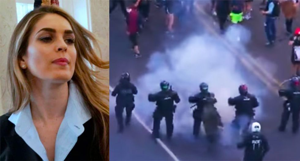 Hope Hicks was behind Trump photo-op stunt that led to peaceful protesters being teargassed: reports