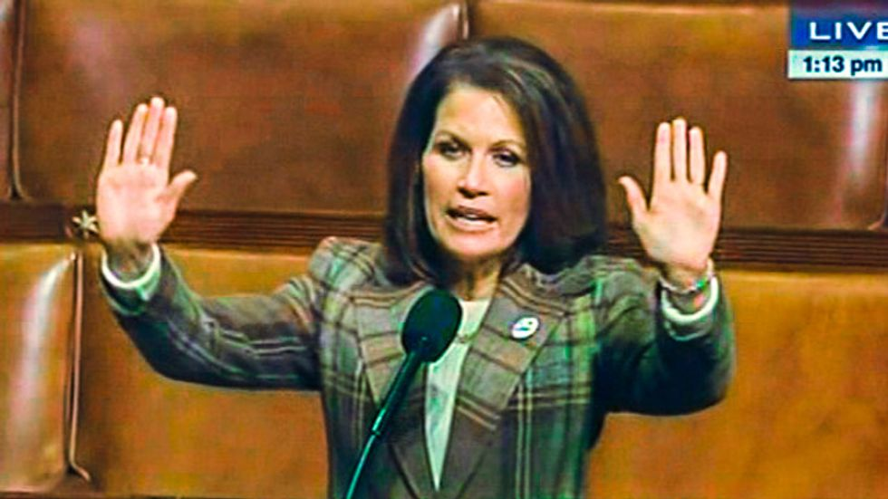 Crazy racist Bachmann story so believable liberal websites fall for parody