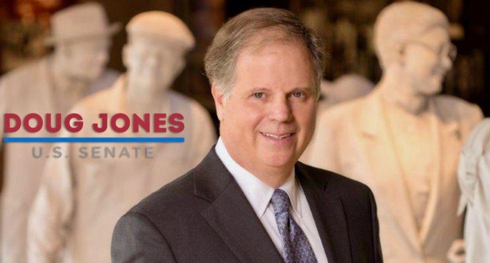 Alabama Democrat Doug Jones turns up attacks on Roy Moore in Senate race's final stretch
