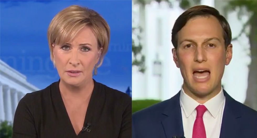 Morning Joe's Mika buries Jared Kushner for touting COVID success while the bodies pile up