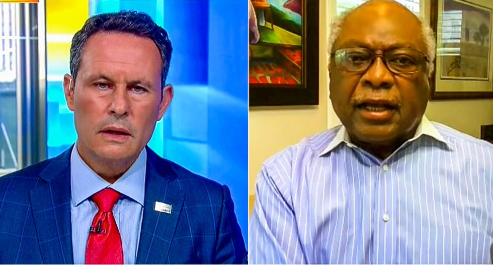 'Don't blame every Black person': James Clyburn jumps on Fox News host for linking him to protest violence