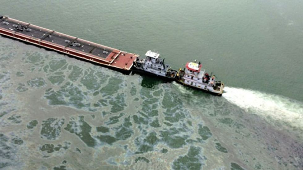 More than 80 ships blocked from Houston Ship Channel due to oil spill: Coast Guard
