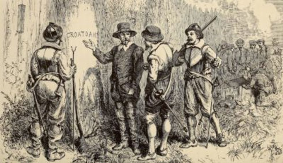 New book solves centuries-old 'mystery' about a so-called 'Lost Colony' of early American settlers