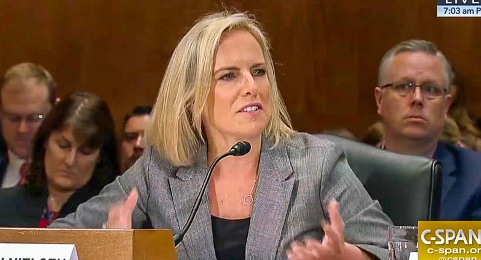 Kirstjen Nielsen can be grilled under oath by House Dems over Trump's 'buffoonishly absurd' national emergency lies: columnist