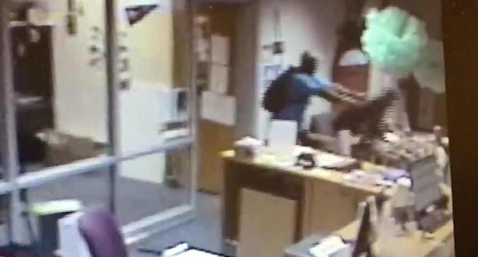 WATCH: Atlanta teacher body slams 17-year-old boy after he tapped him on the shoulder