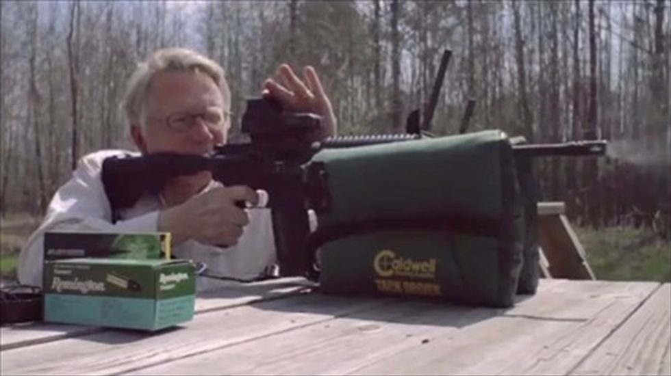 Alabama congressional candidate's ad uses assault rifle to 'do some damage' to Obamacare