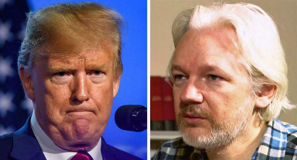 'Impeach him again!' Assange sets off bombshells with Trump pardon claim
