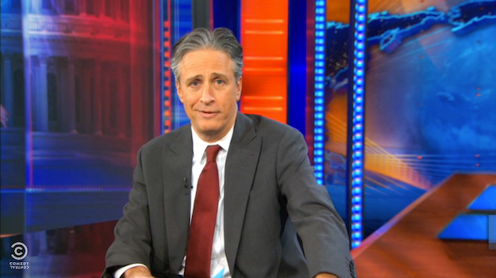 Jon Stewart rips Hobby Lobby: 'Corporations aren't just people; they're ill-informed people'