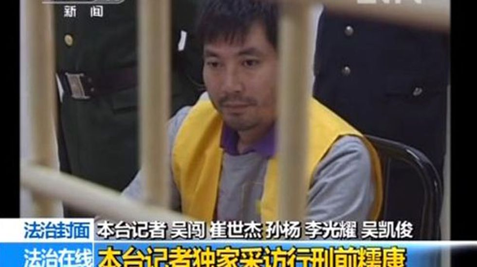 China, world's top executioner, says death penalty deters crime