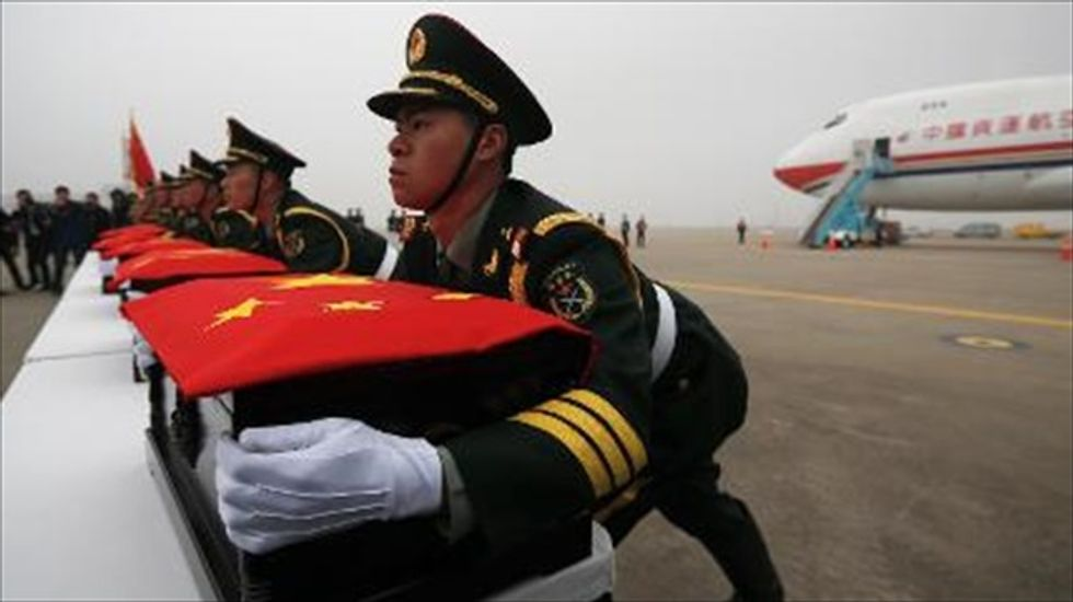 South Korea returns remains of more than 400 Chinese soldiers for burial