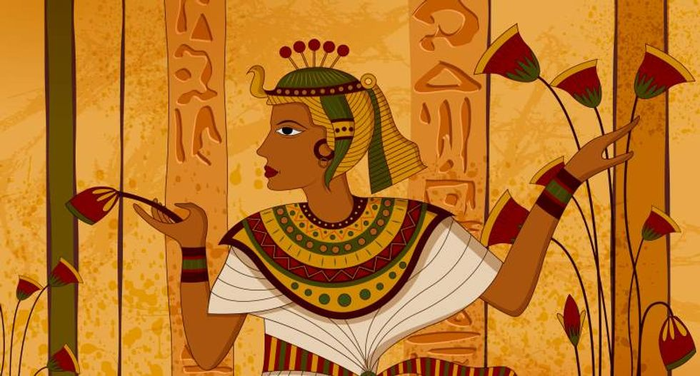 Finally, you can read the collected stories of Egypt's ancient hieroglyphics in English