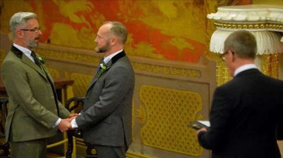 Marriage equality law takes effect in England and Wales
