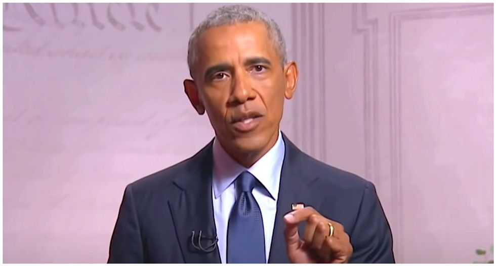 Obama says some Black men are persuaded by Trump's 'macho' bravado bragging about women and money