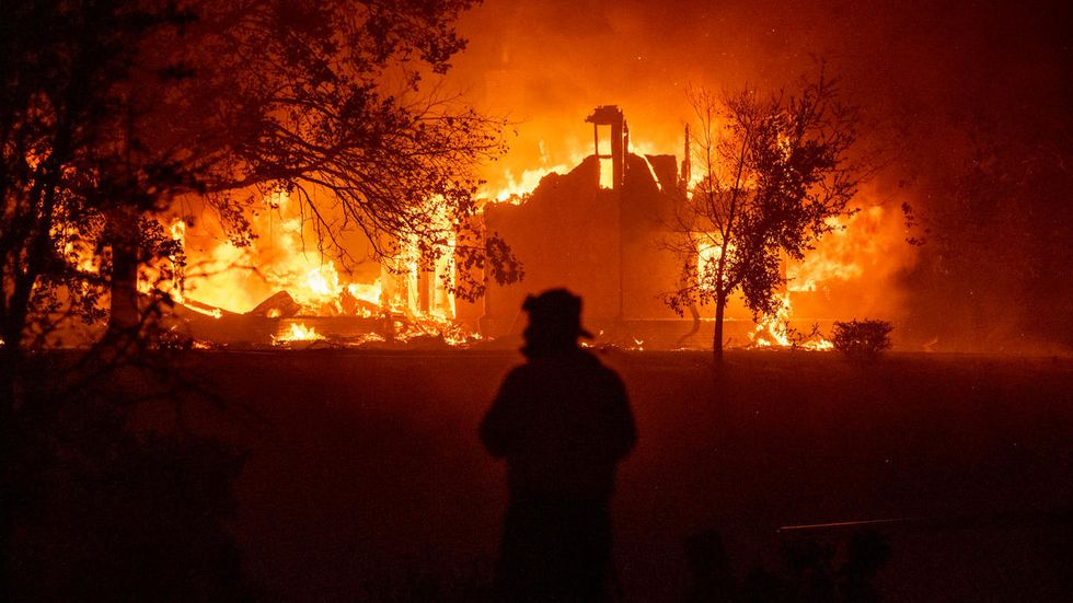 Cops scramble to stop Trump-loving conspiracy nuts from blaming antifa for forest fires