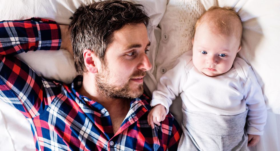 Postpartum depression for dads? Yep, it's a thing