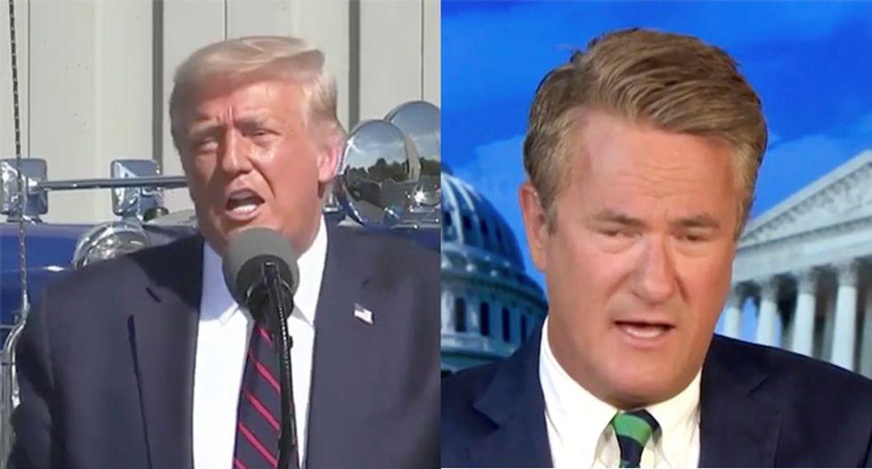 Morning Joe brutally rips apart 'the lunacy' of Trump's 'bizarre' Scranton speech