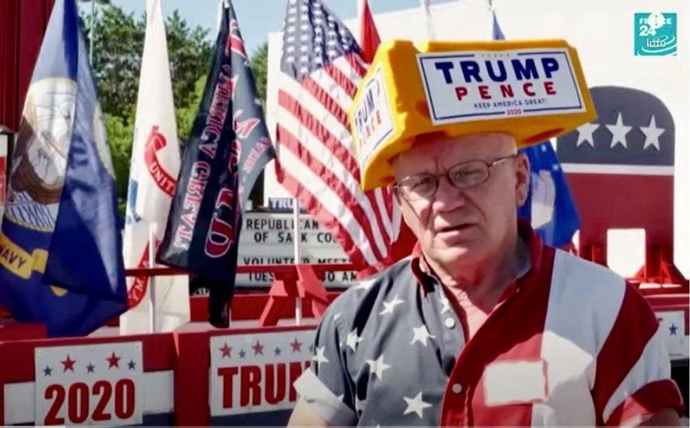 As Dems go virtual, Republicans shun Covid fears on Wisconsin campaign trail