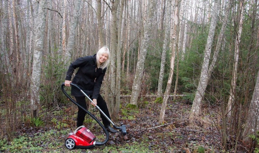 Finns ruthlessly mock Trump's claims they 'take care of the floors' of forests