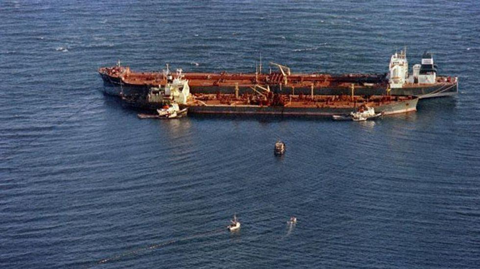 Oil tanker attacked by speedboat in key Gulf waterway