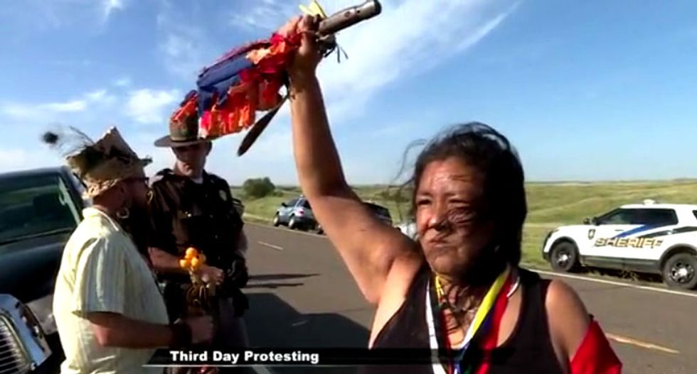 What the Native American pipeline resistance in North Dakota is really about