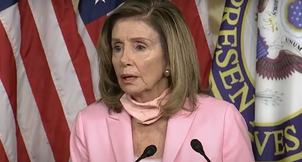 WATCH: Pelosi trolls White House's Meadows as 'what's his name' while shooting down his aid proposal