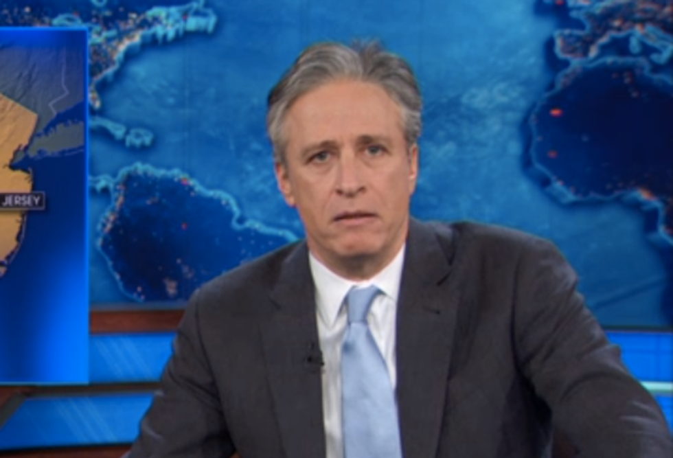 Daily Show rips Christie investigation report and creates #CancelStewart hashtag