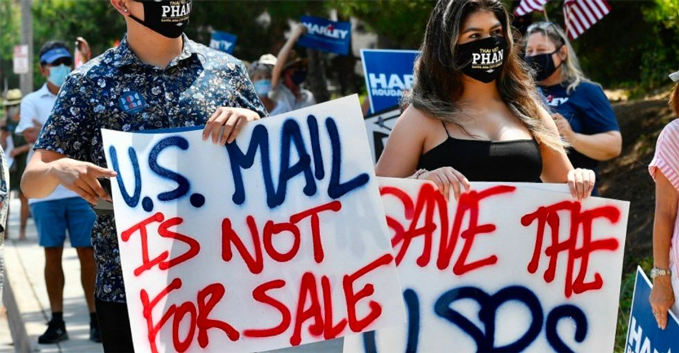 Nearly 700 protests planned for Saturday at Post Offices across country as DeJoy slammed for defense of mail sabotage