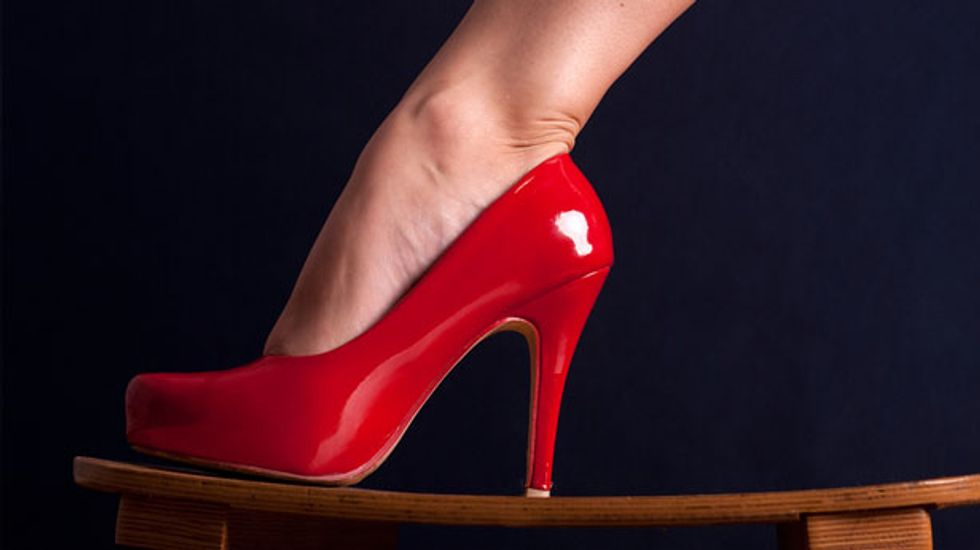 A new level of idiocy: Russia considers banning high heels, foreign words, and condom ads
