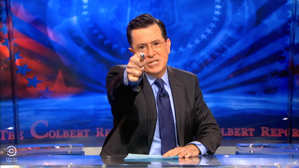 Stephen Colbert salvages the 'wreckage' of his show after #CancelColbert kerfuffle