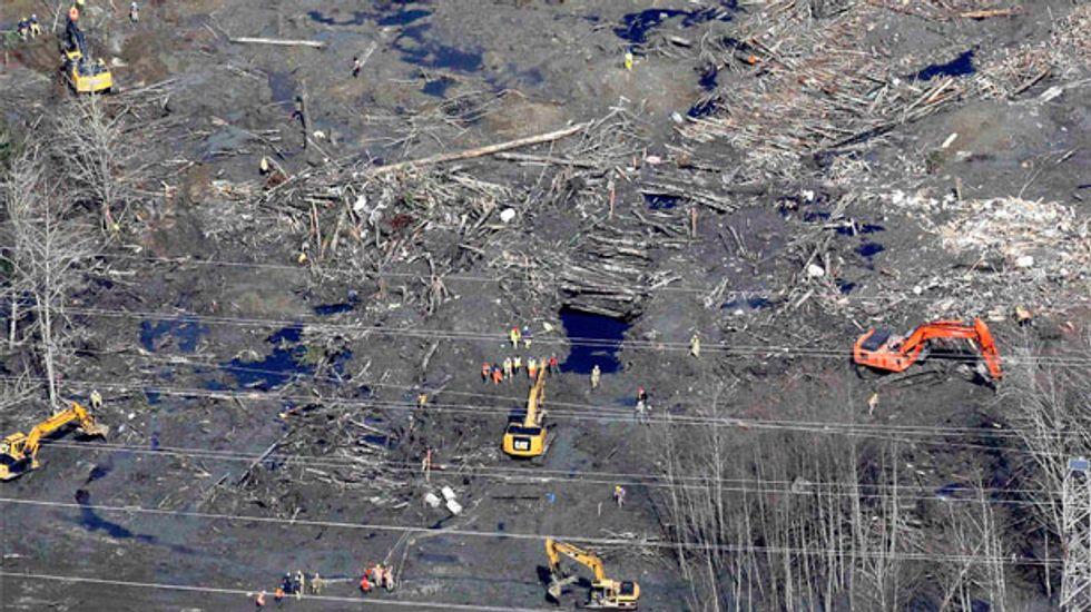 Washington state mudslide survivors consider shrine for disaster site