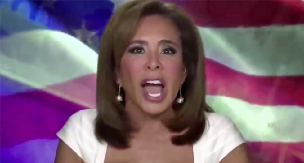 Jeanine Pirro ripped for Fox News rant: 'Judge Juice Box is serving the hypocrisy straight from the bottle'