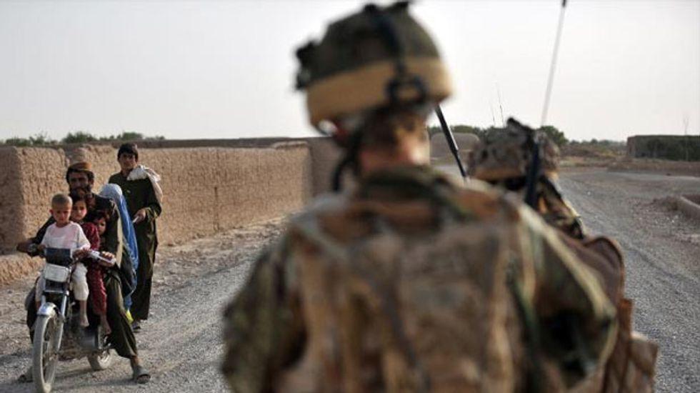 Single shot from a British sniper 'killed six Taliban'