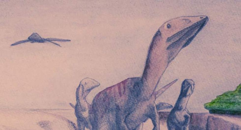 Meet the meat-eating 'Dragon Thief': Researchers unearth Welsh dinosaur's remains