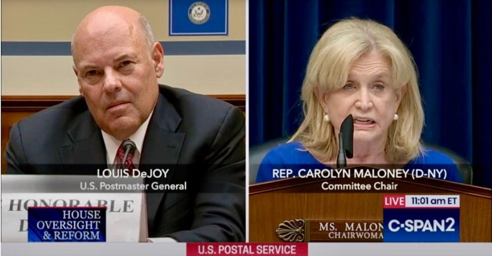 'You're withholding information and concealing documents': Top Democrat threatens DeJoy with subpoena