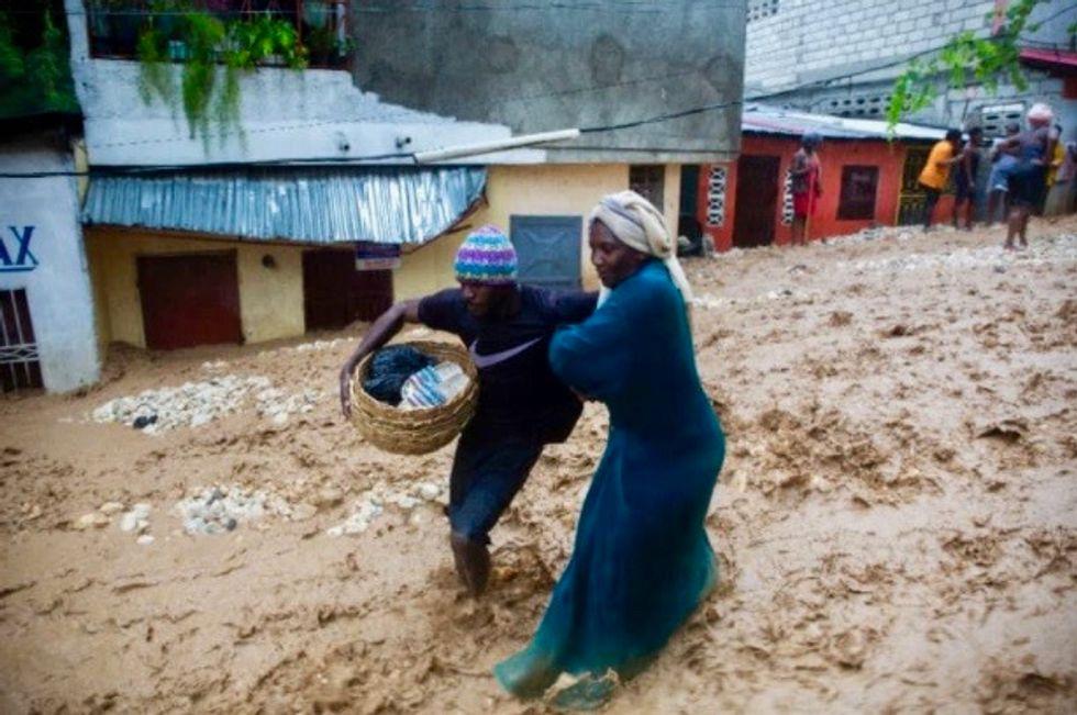 Twin storms threaten US as 12 killed in Haiti, Dominican Republic