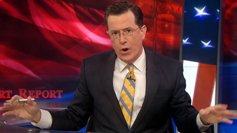 Stephen Colbert: Racism goes away naturally if you stop talking about it -- just like STDs