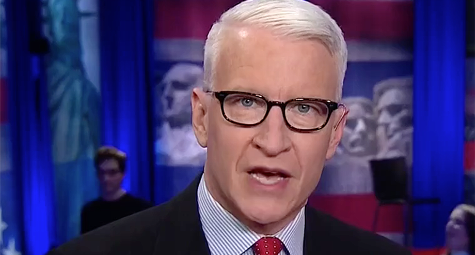 'Complete bull': CNN's Cooper shoots down 'blood and soil' mantra resurrected by Charlottesville white supremacists
